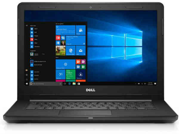 Dell Inspiron Core i3 6th Gen - (4 GB/1 TB HDD/Linux) 3467 Laptop  (14 inch, Black, 1.956 kg)