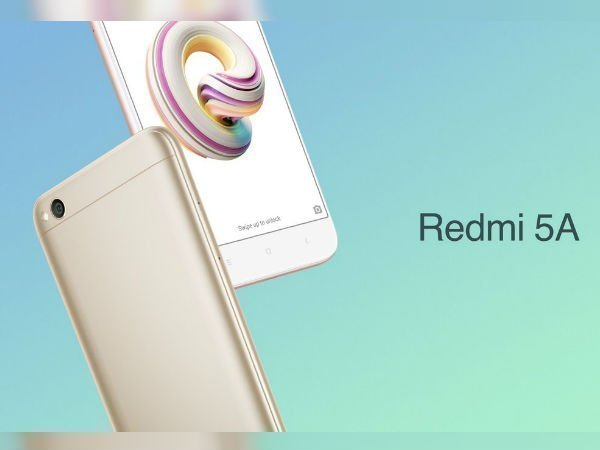 Redmi 5A (EMIs from Rs 243/month)