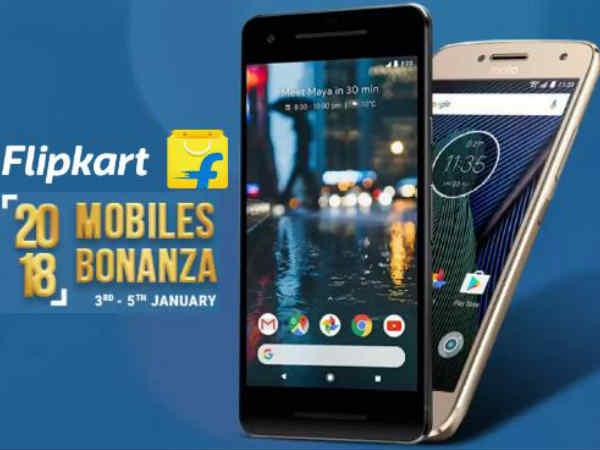 ఫ్లిప్కార్ట్ 2018 Mobiles Bonanza Sale, ఆఫర్లే ఆఫర్లు !