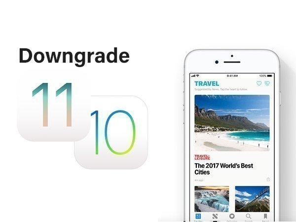 iOS 11 నుంచి iOS 10కి డౌన్గ్రేడ్ అవ్వటం ఎలా..?
