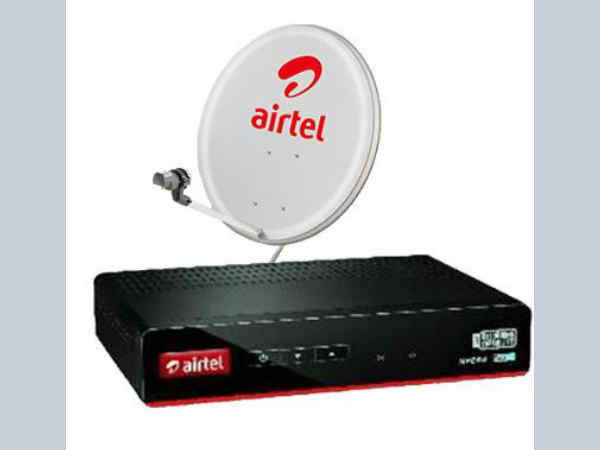 Airtel DTH  Digital TV SD Set Top Box