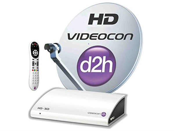 Videocon d2h  HD Digital Set Top Box