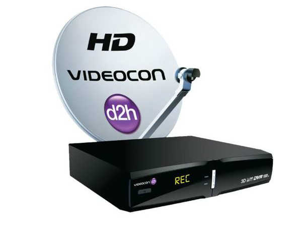 Videocon d2h  HD Digital Set Top Box with Unlimited Recording