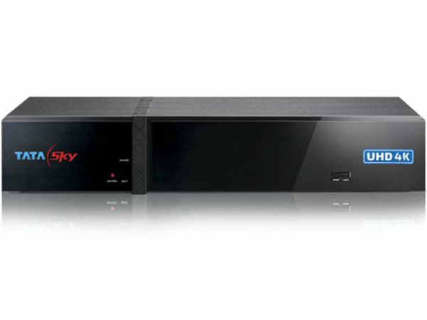 Tata Sky  4k Ultra HD Box
