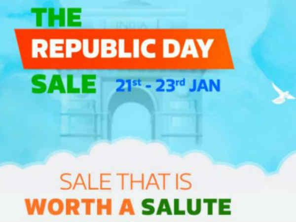 అమెజాన్కి పోటీగా Flipkart Republic Day Sale, భారీ డిస్కౌంట్లు షురూ..