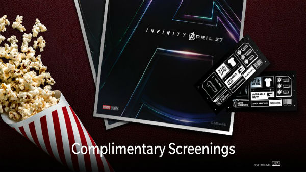 6,000 complimentary movie tickets