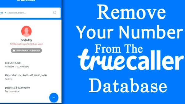 Remove your number from its database