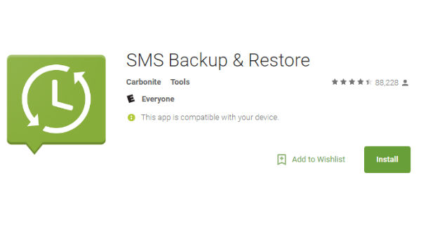 Carbonite SMS Backup and Restore
