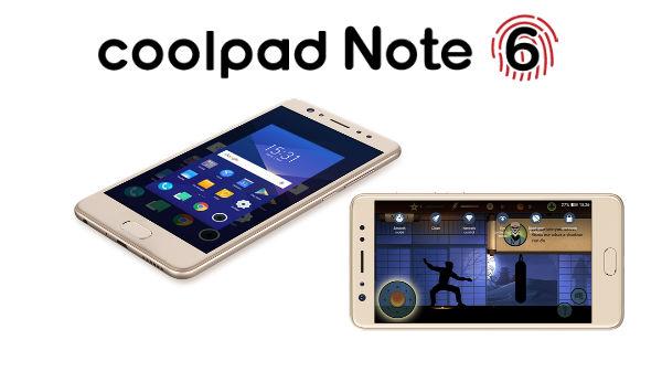 ఆకట్టుకునే ఫీచర్లతో Coolpad Note 6,బడ్జెట్ ధరలో..