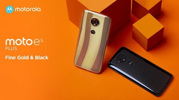 ఇండియాలో లాంచ్ అయిన Moto E5, E5 Plus, పూర్తి వివరాలు !