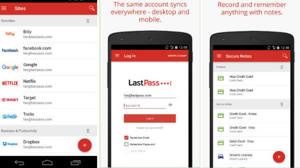 LastPass Password Manager యాప్