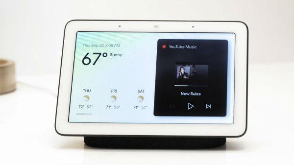 స్మార్ట్ డిస్ప్లే సదుపాయంతో Google Home Hub