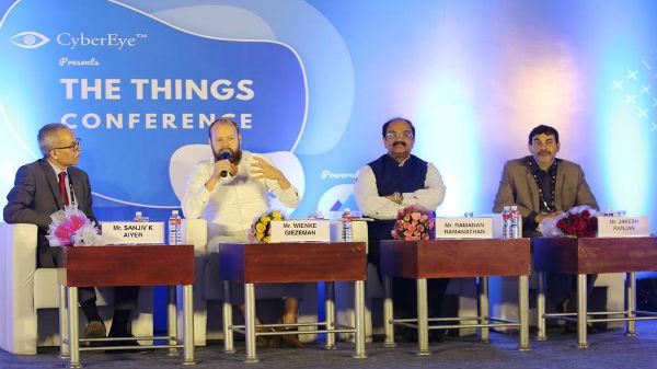 'The Things Conference India' ను  ఇండియా లో నిర్వస్తున్న CyberEye