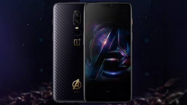 OnePlus 6 Marvel Avengers Limited Edition....
