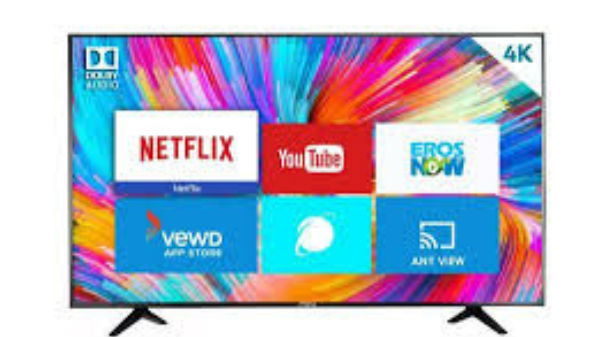 MarQ by Flipkart Certified Android 49-inch 4K Smart LED TV