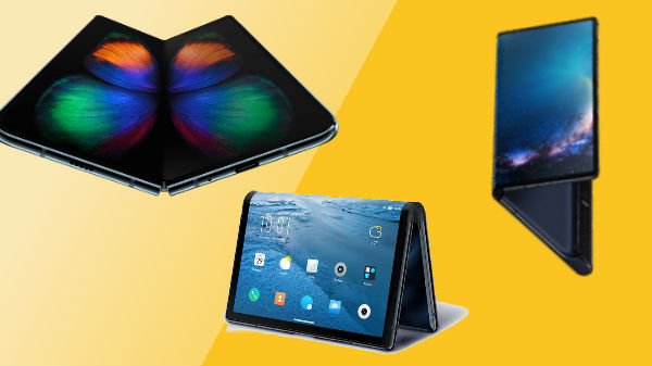 Support for foldable screens