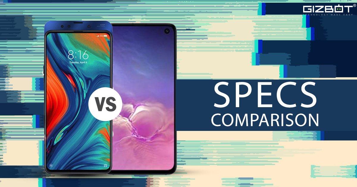 Xiaomi Mi Mix 3 vs. Mi 9