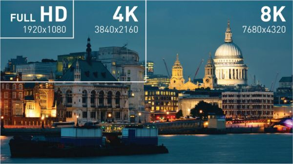 8K video streaming