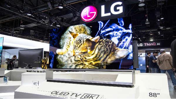 8K OLED  TVని ప్రారంబించిన  LG