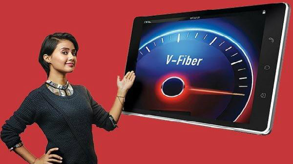 Airtel V-Fiber Data Plans, Speeds
