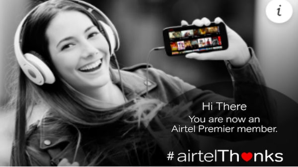 Airtel Thanks Benefits