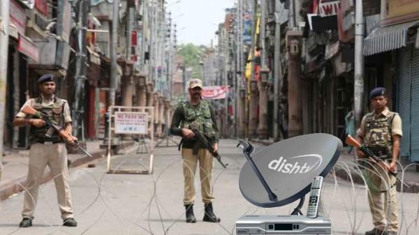 జమ్మూ కాశ్మీర్లో నిరంతరాయంగా Dish TV సేవలు