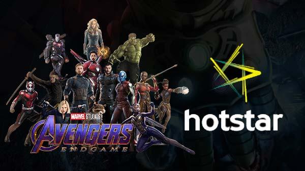 హాట్స్టార్లో హాల్ చల్ చేయనున్న Avengers: Endgame