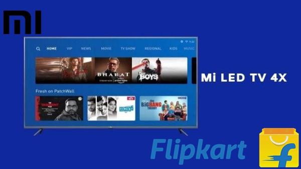 Mi TV: 43-inch స్మార్ట్టీవీ ఫ్లాష్ సేల్...తక్కువ ధరకే ఫ్లిప్కార్ట్ లో