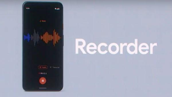 ఫిక్సల్ ఫోన్లకు Google Recorder App సపోర్ట్