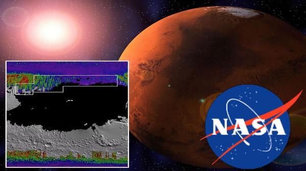 మార్స్ పై మంచు నీటి జాడను కనుగొన్న NASA