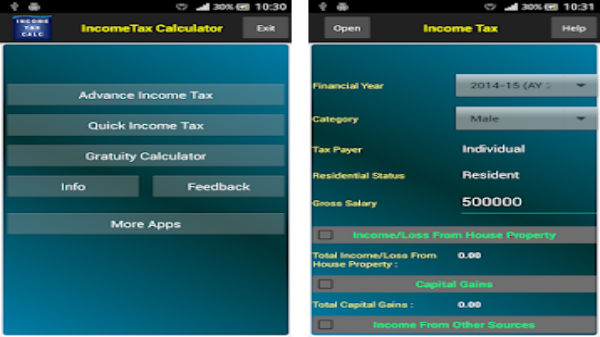 Income Tax Calculator by MorAppsStore: