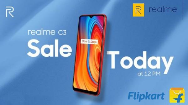 Realme C3 Sale ప్రారంభం... డిస్కౌంట్ ఆఫర్స్ అదుర్స్...