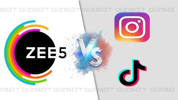 ZEE5 Hypershots: టిక్టాక్కు పోటీగా కొత్త యాప్
