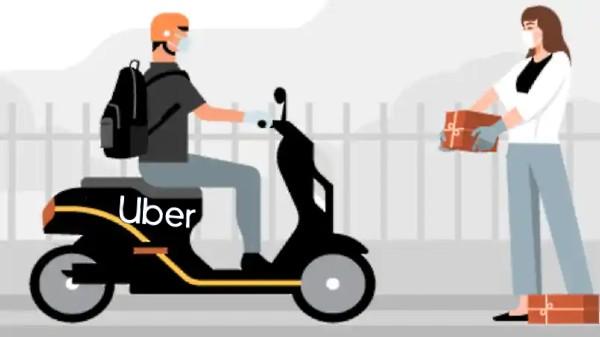 Uber ప్యాకేజీ డెలివరీ సర్వీసు లాంచ్!!! అన్ని ఇంటి వద్దకే....