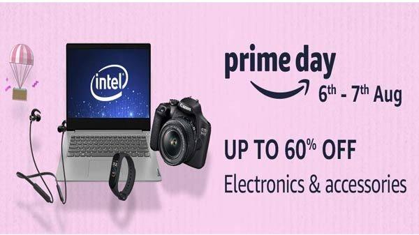 Amazon Prime Day Sale లో ఎలక్ట్రానిక్ గాడ్జెట్ లపై భారీ ఆఫర్లు