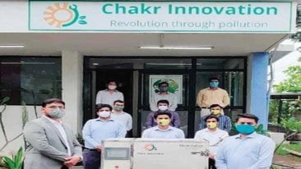 N95 పేస్ మాస్క్ ల ఆవిష్కరణకు కొత్త పరికరంను తయారుచేసిన Chakr Innovation