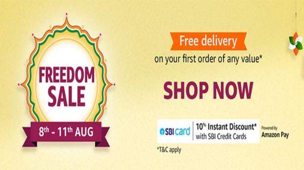 Amazon Freedom Sale 2020: ఎలక్ట్రానిక్స్ ఉత్పతుల కొనుగోలుకు ఇదే సరైన సమయం!!