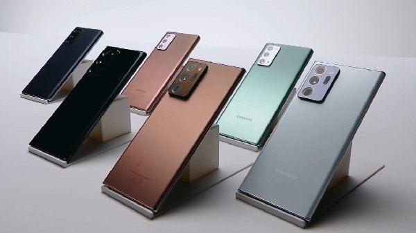 అదిరిపోయే ఫీచర్లతో విడుదలైన Samsung Galaxy Note 20 సిరీస్ ఫోన్లు.