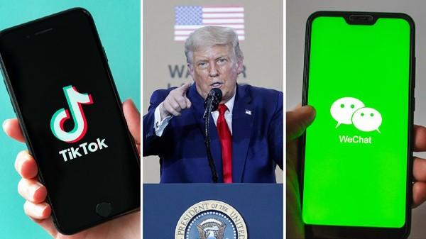 USలో కూడా TikTok, WeChat యాప్ బ్యాన్!! చైనాకు ఝలక్ ఇచ్చిన ట్రంప్...
