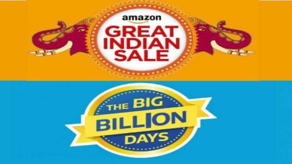 Amazon Great Indian Festival sale vs Flipkart Big Billion Days Sale: డిస్కౌంట్ ఆఫర్లు చూడతరమా!!!