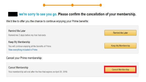 Amazon Prime సబ్స్క్రిప్షన్ అకౌంటును రద్దుచేయడం ఎలా?