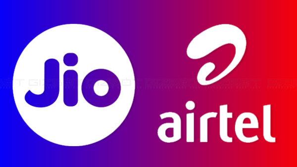 Reliance Jioను వరుసగా రెండవసారి వెనుకకు నెట్టిన Airtel!! ఎందులోనో తెలుసా???