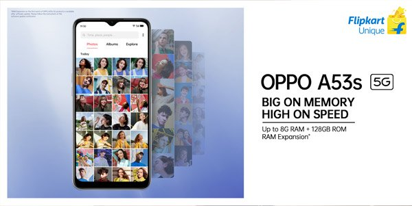 Oppo A53s 5G బడ్జెట్ స్మార్ట్ఫోన్!6GB RAMతో 5G కొత్త యుగానికి నాంది.