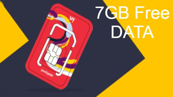 Vodafone Idea(Vi) యూజర్లకు ఉచితంగా 7GB డేటా!! మీకు వచ్చిందా...