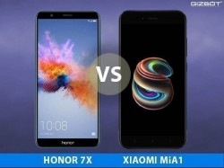 Honor 7X Vs Xiaomi Mi A1: రూ.13000లో బెస్ట్ బడ్జెట్ ఫోన్ ఏది ?