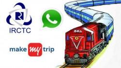 వాట్సాప్ లో  Train  PNR స్టేటస్ చెక్ చేసుకోవడం  ఎలా... ?