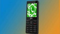 జియోఫోన్లలో ప్రారంభమైన WhatsApp messenger సేవలు