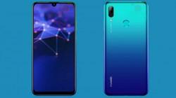 అదిరిపోయే ఫీచర్లతో మార్కెట్లోకి దూసుకొచ్చిన Huawei P Smart (2019)