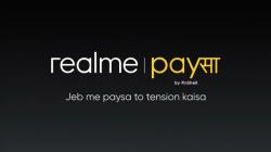 Realme PaySa యాప్తో ఫైనాన్షియల్ ప్లాట్ఫామ్లోకి రియల్మి