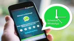 WhatsApp మెసేజ్ లను షెడ్యూల్ చేయడం ఎలా?
